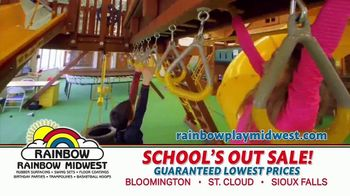 Rainbow Play Systems, Inc. School's Out Sale TV Spot, 'Over 45% Off Swing Sets' - Thumbnail 9