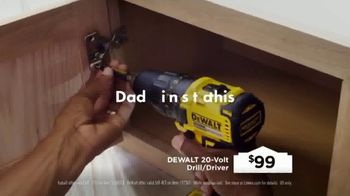 Lowe's TV Spot, 'Father's Day: Build Dad's Imagination' - Thumbnail 6