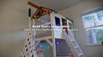 Lowe's TV Spot, 'Father's Day: Build Dad's Imagination' - Thumbnail 8