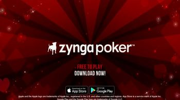 Zynga Poker TV Spot, 'Fun and Competitive Poker Action' - Thumbnail 10