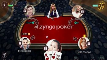 Zynga Poker TV Spot, 'Fun and Competitive Poker Action' - Thumbnail 3