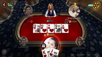 Zynga Poker TV Spot, 'Fun and Competitive Poker Action' - Thumbnail 5