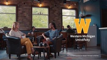 Western Michigan University TV Spot, 'Passion Took Her From Storytelling to Story Changing'
