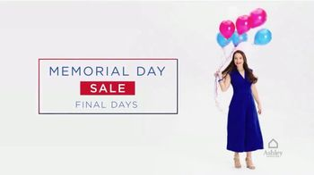 Ashley HomeStore Memorial Day Sale TV Spot, 'Final Days: Zero Interest for Five Years' - Thumbnail 2