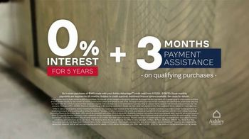 Ashley HomeStore Memorial Day Sale TV Spot, 'Final Days: Zero Interest for Five Years' - Thumbnail 4
