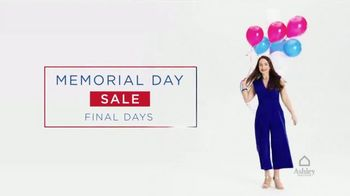 Ashley HomeStore Memorial Day Sale TV Spot, 'Final Days: Up to 50 Percent Off' - Thumbnail 2
