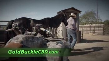 Ride With Me Goldbuckle CBD TV Spot, 'Not Getting Younger' Featuring Luke Branquinho - Thumbnail 6