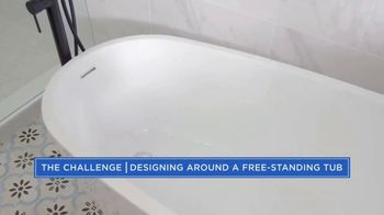 Wayfair TV Spot, 'HGTV: Property Brothers Forever Home: Free-Standing Tub' - Thumbnail 3