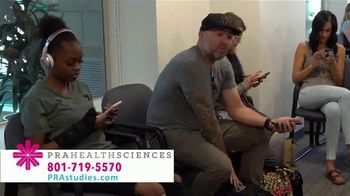 PRA Health Sciences TV Spot, 'Earn Up to $11,000 in a Clinical Research Study' - Thumbnail 5