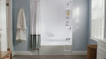 Bath Fitter TV Spot, 'Installed Quickly and Safely: 0% Interest' - Thumbnail 1