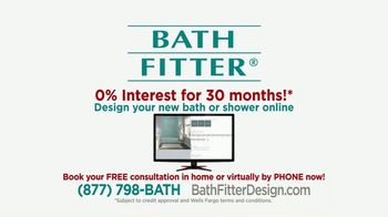 Bath Fitter TV Spot, 'Installed Quickly and Safely: 0% Interest' - Thumbnail 10