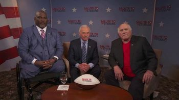 American Heroes: A Salute to Veterans TV Spot, 'Heartfelt Thanks' Feat. Terry Bradshaw, Rocky Bleier
