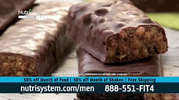 Nutrisystem for Men 50/50 Deal TV Spot, 'Lose Weight Without Leaving the House: Up to 18 Pounds' - Thumbnail 5