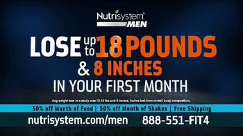 Nutrisystem for Men 50/50 Deal TV Spot, 'Lose Weight Without Leaving the House: Up to 18 Pounds' - Thumbnail 6