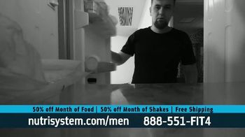 Nutrisystem for Men 50/50 Deal TV Spot, 'Lose Weight Without Leaving the House: Up to 18 Pounds' - Thumbnail 7