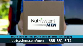 Nutrisystem for Men 50/50 Deal TV Spot, 'Lose Weight Without Leaving the House: Up to 18 Pounds' - Thumbnail 8