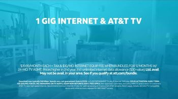 AT&T Fiber TV Spot, 'Working From Home: One Gig Internet: Book Club' - Thumbnail 9