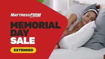 Mattress Firm Memorial Day Sale TV Spot, 'Extended: Save Up to $500' - Thumbnail 1