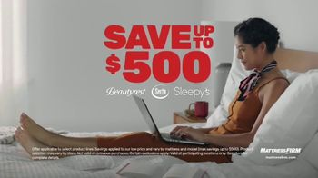 Mattress Firm Memorial Day Sale TV Spot, 'Extended: Save Up to $500' - Thumbnail 2