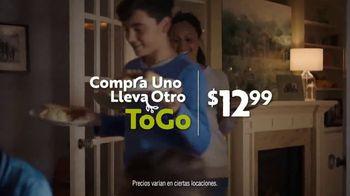 Olive Garden Buy One Take One ToGo TV Spot, 'La noche en casa: Delivery gratis' [Spanish] - Thumbnail 5