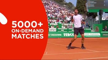 Tennis Channel Plus TV Spot, '60 Days Free' - 223 commercial airings