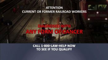 1-800-LAW-HELP TV Spot, 'Railroad Workers: Cancer'