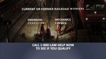 1-800-LAW-HELP TV Spot, 'Railroad Workers: Cancer' - Thumbnail 3