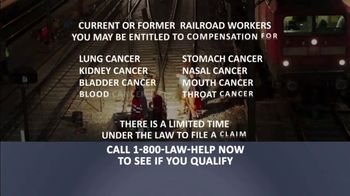 1-800-LAW-HELP TV Spot, 'Railroad Workers: Cancer' - Thumbnail 5