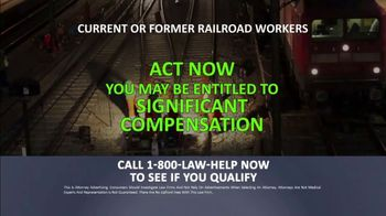 1-800-LAW-HELP TV Spot, 'Railroad Workers: Cancer' - Thumbnail 6