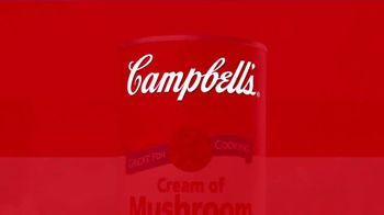 Campbell's Soup Cream of Mushroom TV Spot, 'Creamy Cream of Mushroom' - Thumbnail 9