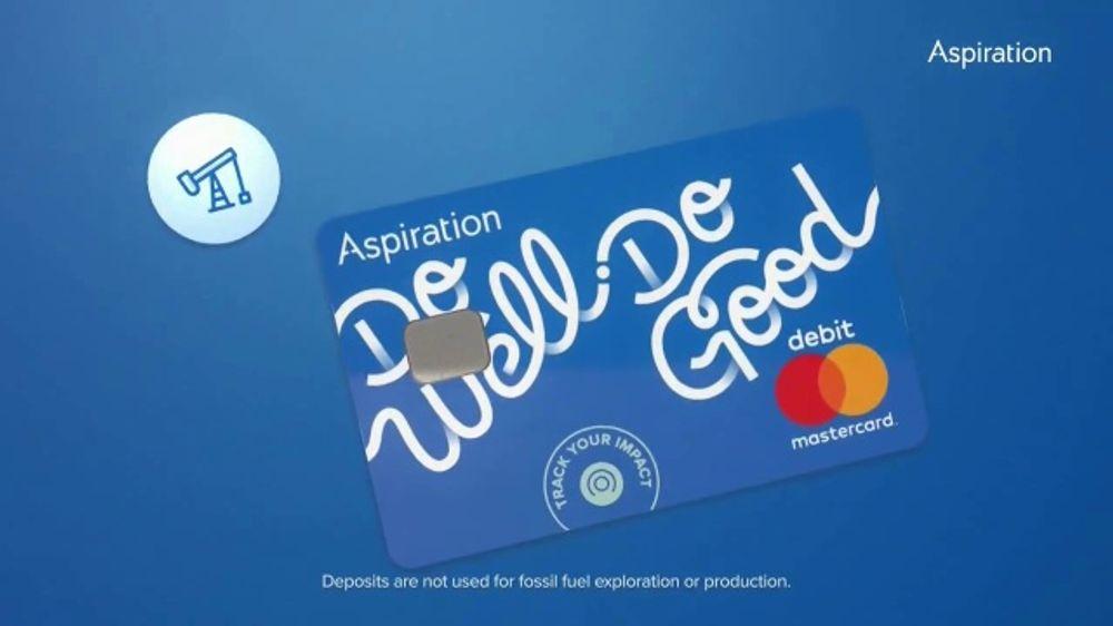 Aspiration TV Commercial, 'Deserve Better'