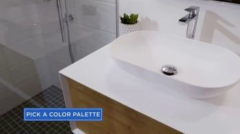 Wayfair TV Spot, 'HGTV: Property Brothers Forever Home Reveal: Neutral Bathroom' - Thumbnail 2