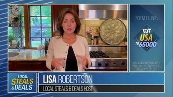 Local Steals & Deals TV Spot, 'Supporting Small Businesses' Featuring Lisa Robertson - Thumbnail 2