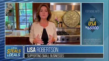 Local Steals & Deals TV Spot, 'Supporting Small Businesses' Featuring Lisa Robertson - Thumbnail 7