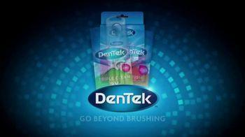 DenTek Oral Care TV Spot, 'Beyond Brushing and Flossing' - Thumbnail 9