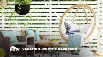 Wayfair TV Spot, 'HGTV: Vacation-Worthy Backyard' - Thumbnail 1