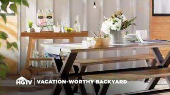Wayfair TV Spot, 'HGTV: Vacation-Worthy Backyard' - Thumbnail 2