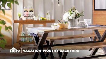 Wayfair TV Spot, 'HGTV: Vacation-Worthy Backyard' - Thumbnail 3