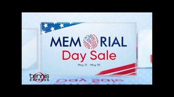 Tennis Express Memorial Day Sale TV Spot, 'Extra 20% Off'