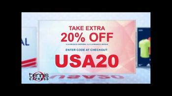 Tennis Express Memorial Day Sale TV Spot, 'Extra 20 Percent Off' - Thumbnail 3