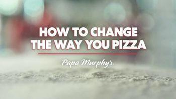 Papa Murphy's Cheeseburger Pizza TV Spot, 'Chow Down' - Thumbnail 2