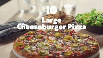 Papa Murphy's Cheeseburger Pizza TV Spot, 'Chow Down' - Thumbnail 8