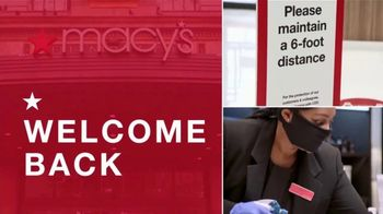 Macy's TV Spot, 'Welcome Back'