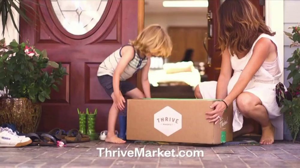 Thrive Market TV Commercial, 'Organic and Non-GMO Products'
