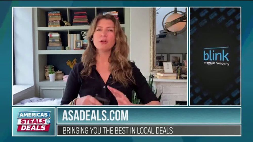America's Steals & Deals TV Commercial, 'Blink Security Camera, Gabba Goods and True Buds'