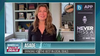America's Steals & Deals TV Spot, 'Blink Security Camera and Gabba Goods' Featuring Genevieve Gorder