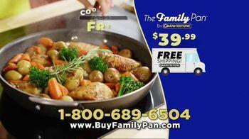 Granite Stone Family Pan TV Spot, 'Family Meal Cooking Game' - Thumbnail 10