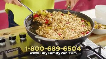 Granite Stone Family Pan TV Spot, 'Family Meal Cooking Game'