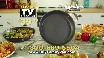 Granite Stone Family Pan TV Spot, 'Family Meal Cooking Game' - Thumbnail 9