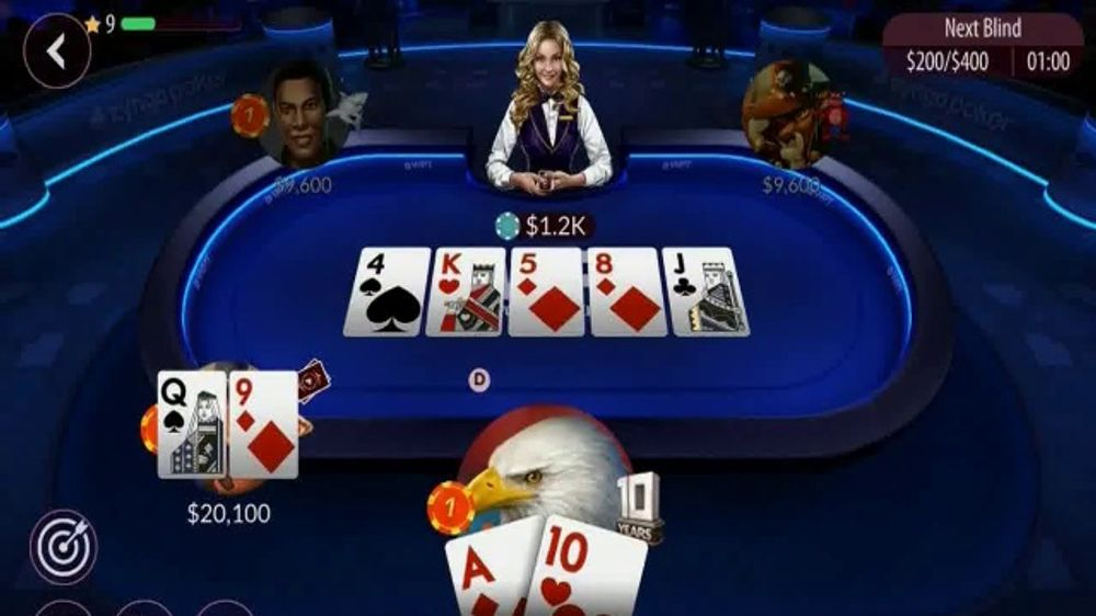 Zynga Poker TV Commercial, 'WPT Tournament Center' Featuring Tony Dunst, Vince Van Patten